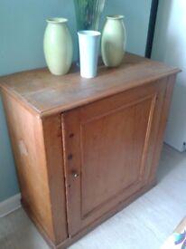 Victorian linen cabinet