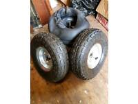 Sack barrow wheels