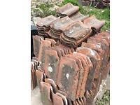 Reclaimed clay pan tiles
