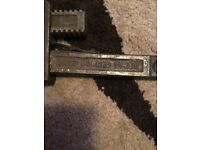Record 18 stilson pipe wrench grips original