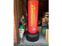 Red Free standing adult kick pad