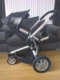 Quinny Buzz Pushchair - Rocking Black excellent condition