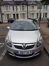 Vauxhall Corsa SXi 1.2 Petrol 5d auto silver, very good condition, low mileage, MOT and Tax