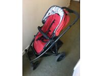 Immaculate 2-in-1 Uppababy Vista pram set
