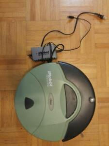 Oakville ROOMBA Robotic Vaccuum iRobot Electric Works but needs some adjustment