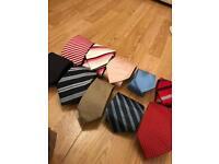 Selection of 10 Men's Ties