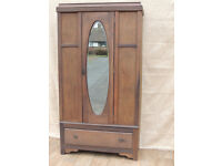 Wooden wardrobe with drawer (Delivery)