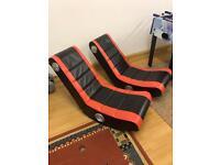 Rocking gaming chairs