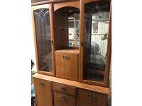 Free display cabinet. Pick up only