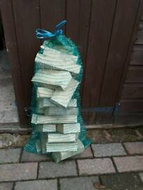 Fire wood (netted sacks)