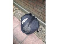 2 x Football NETS (11-a-side/Adult size) + bag