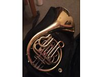 Children French Horn and Case
