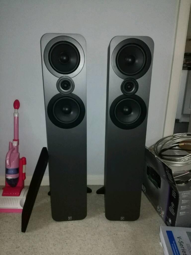 Q Acoustics 3050 Speakers In Timsbury Somerset Gumtree