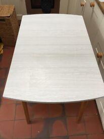 Vintage midcentury formica table