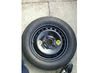 BMW E46 SPACE SAVER WHEEL AND TYRE