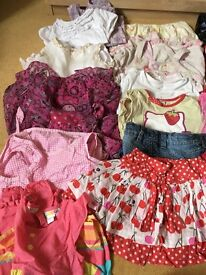 12-18 months bundle of girls clothes
