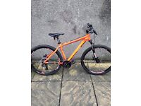 Mountain bike only 6 months old from carrick cycles was £350 new now only £220