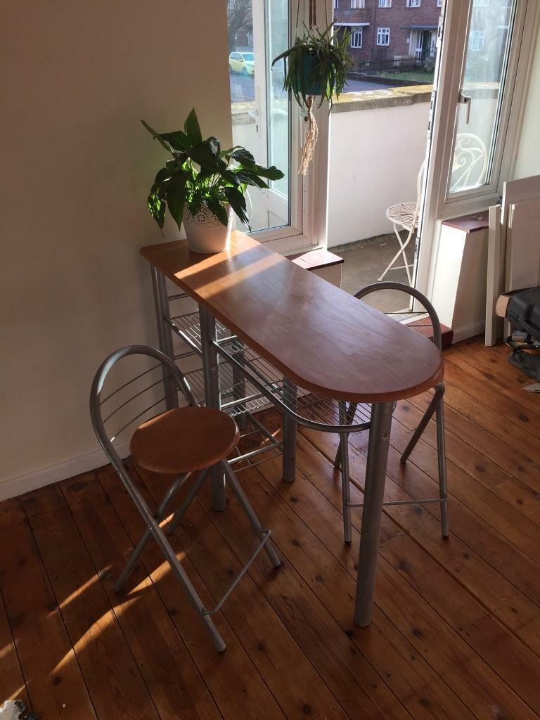 a824ad41b4cc Breakfast bar and two stools   in Norwich, Norfolk   Gumtree