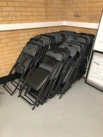 35 Folding plastic chairs AVAILABLE