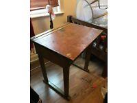 Shabby Chic Victorian school desk