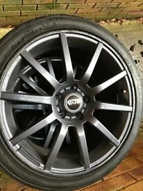"18"" Riva BNZ 5x112 Alloy Wheels"