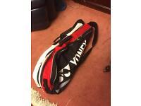 YONEX 6 racket holder, Badminton bag. RRP £50