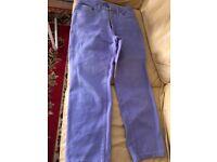 Versace woman trousers size 34UK. 48 EU