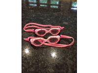 Girls swimming goggles, suitable for age 2-7