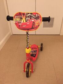 Disney Cars scooter