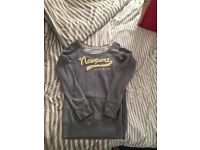 Holister Jumper. Size M fits 10-12. Good as new