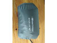 Inflatable sleeping mat