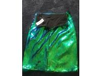 River Island size 10 sequin skirt COLLECTION ONLY