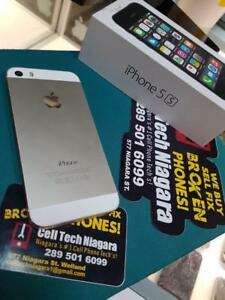 iPhone 5s Blowout Sale (Bell,Virgin,Telus,Koodo,Rogers,Chatr,Fido) Starting At 190$ At Cell Tech Niagara