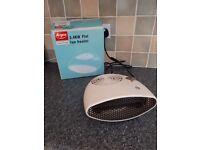 Small electic fan heater