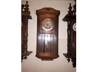 antique wall clock perfect working