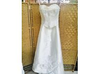 Stunning 2 Piece Ivory Wedding Dress by Veromia