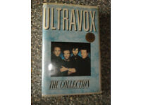 ULTRAVOX THE COLLECTION RARE - VHS PAL PALACE EMBOSSED PRE CERT