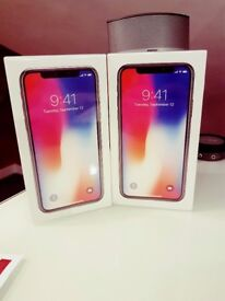 Brand New Sealed Apple iPhone X - 64GB - Space Grey Unlocked