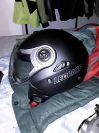 For sale xl open face motorcycle helmet
