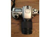 Nikon F60 SLR Silver 35mm camera