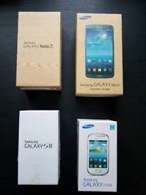 Broken Phones (Samsung Galaxy- S3, Note 3, Mega, Fame)