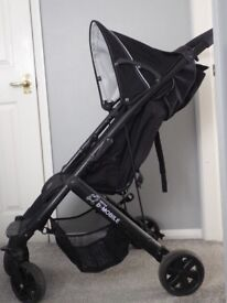 Britax B –Mobile Pushchair with Raincover.