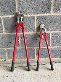 Bolt croppers 24 and 30 inch