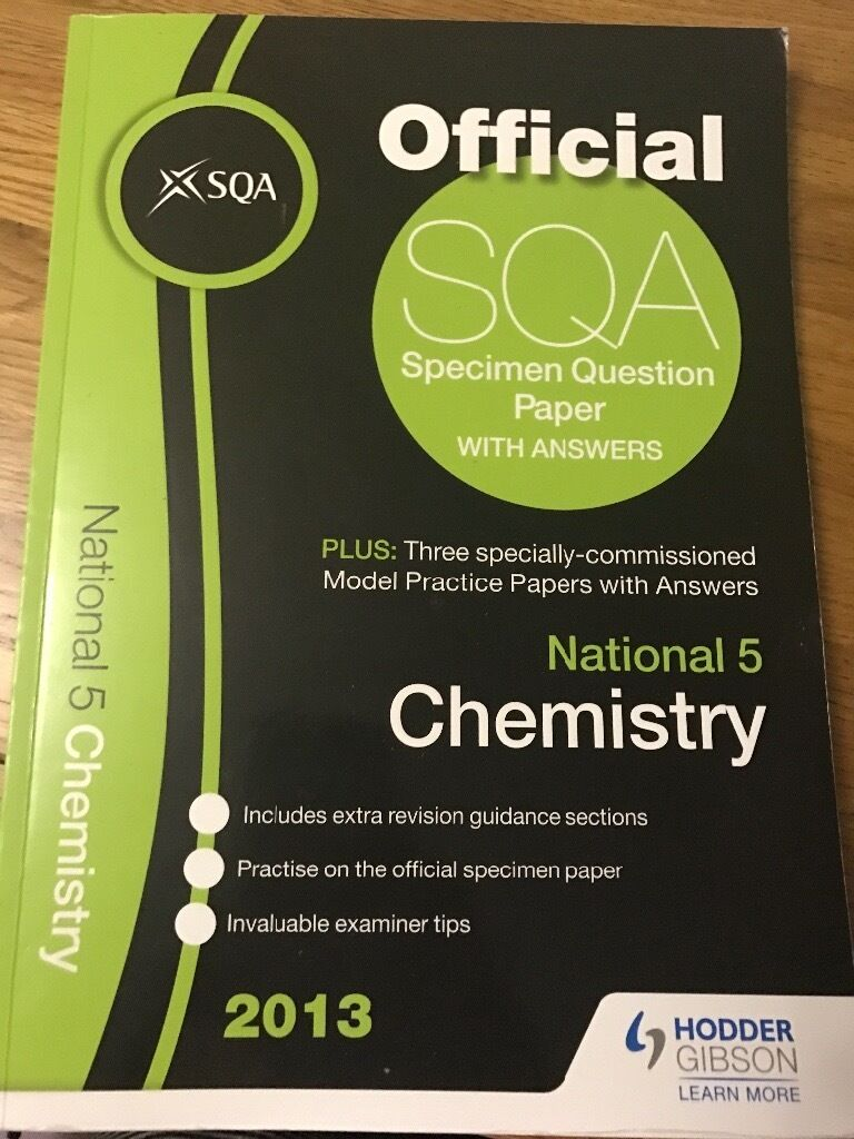 sqa national how to pass chemistry in glenrothes fife gumtree sqa national 5 how to pass chemistry