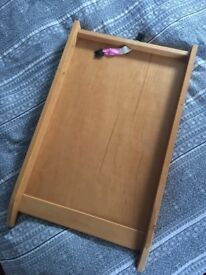 Wooden Cot Top Changer