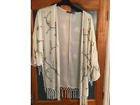Sequinned kimono/jacket
