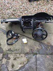 Audi A4 B8 2009 airbag kit complete