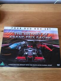 NEW - X4 DVDs History of Grand Prix