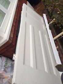 Internal door - Edwardian solid reclaimed panelled