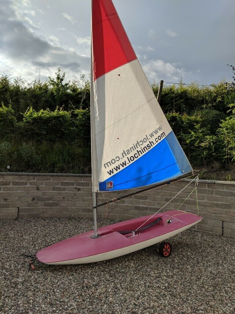 Topper Sailing Dinghy Complete & Foldable Launching